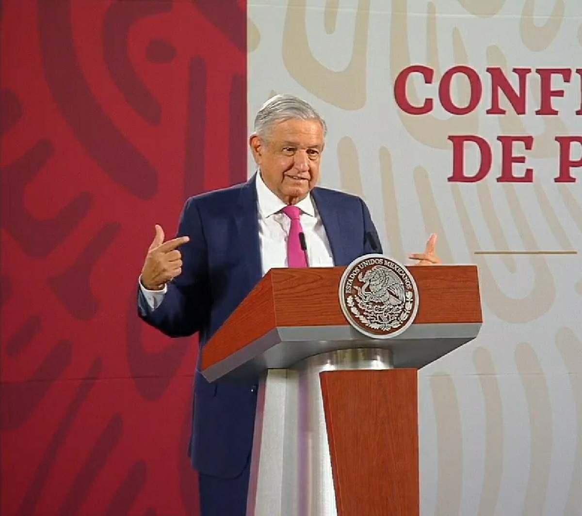 Nueva conferencia vespertina en Palacio Nacional