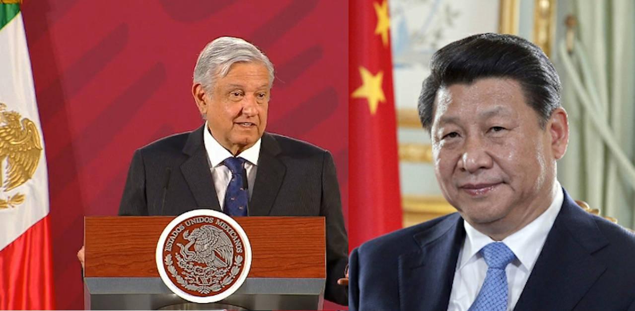 China reconoce liderazgo de AMLO