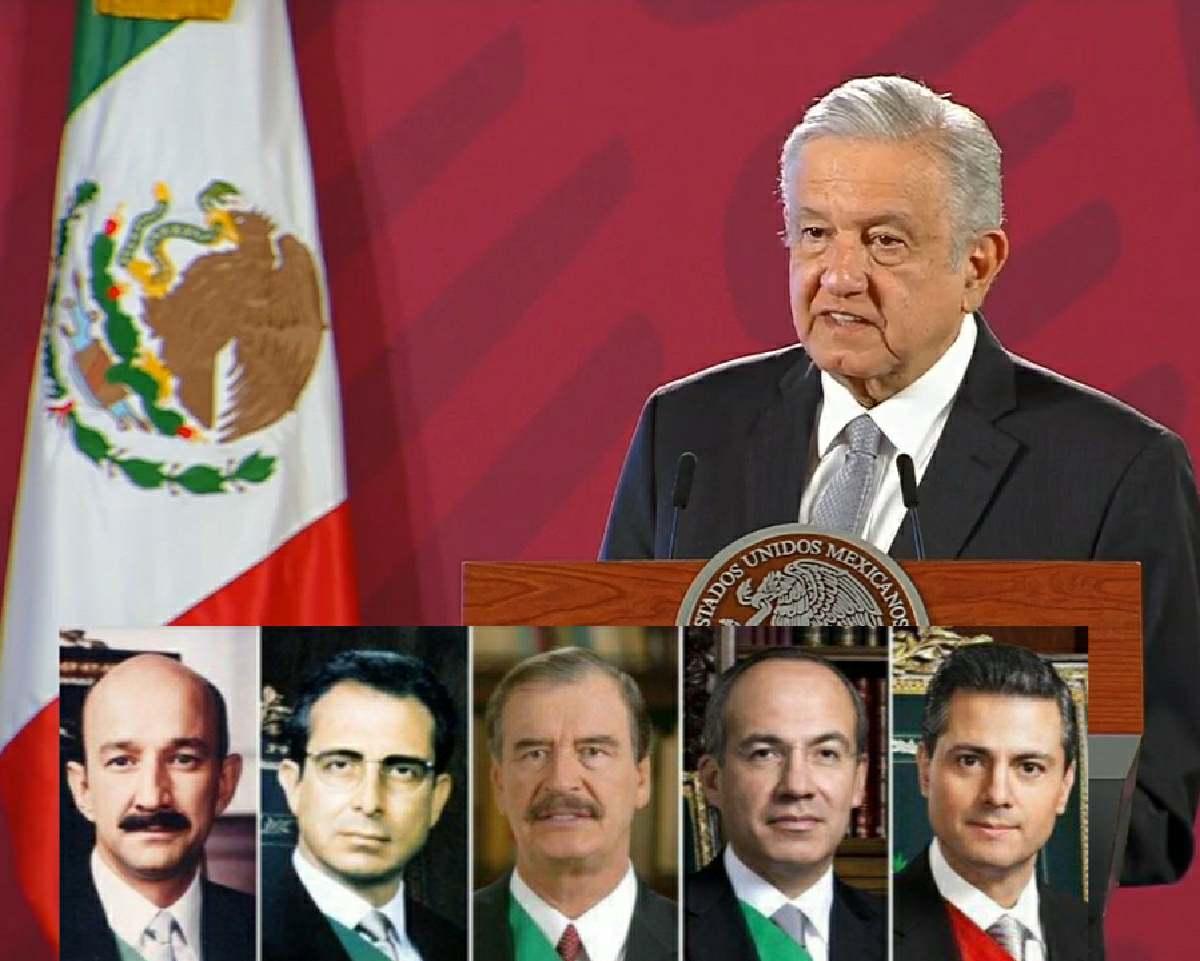 AMLO solicita consulta para enjuiciar a expresidente