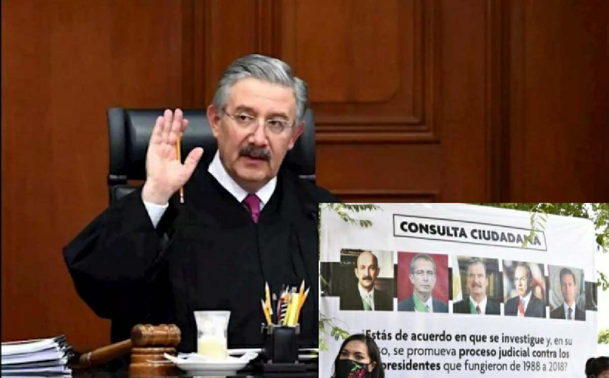 Ministro declara inconstitucional consulta para juzgar a expresidentes