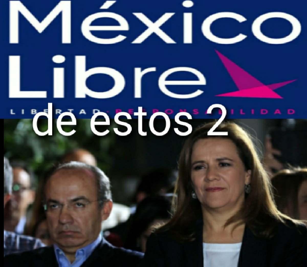 Calderón y su esposa se quedan sin partido