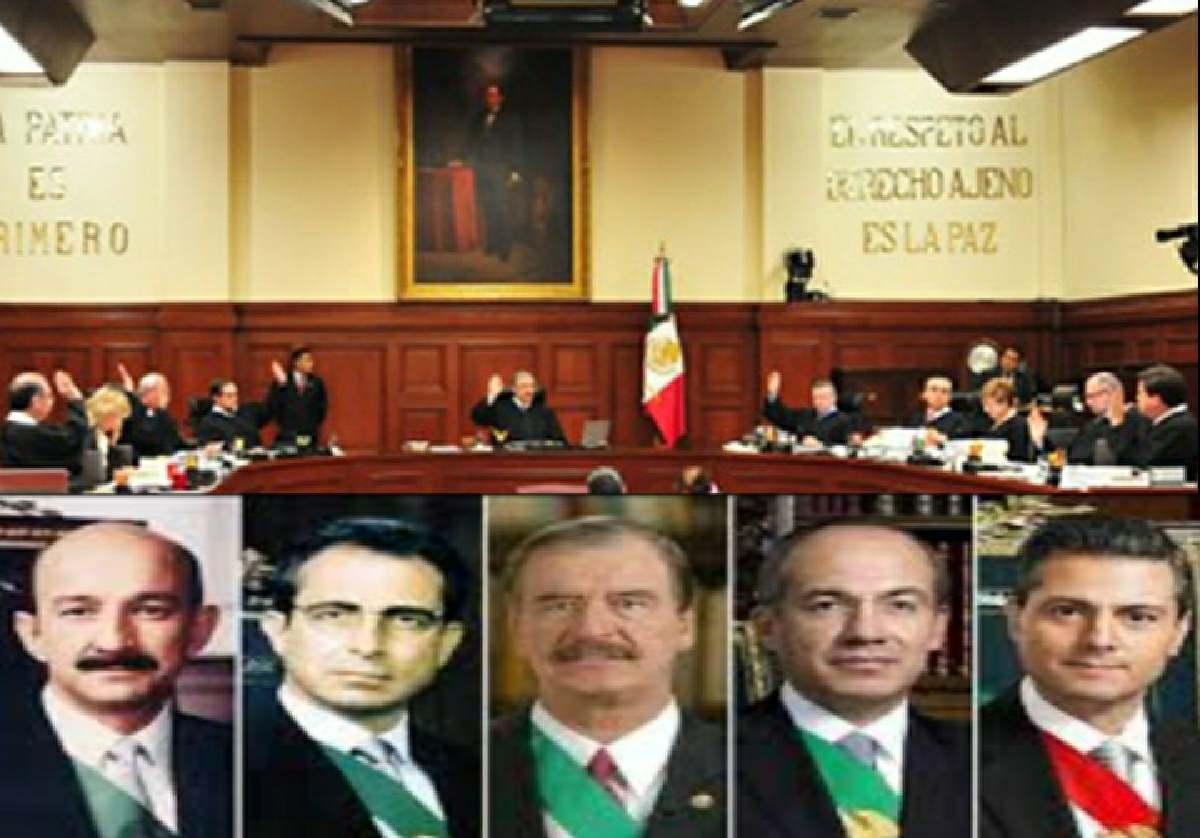 Fox y Calderón rechazan decisión de la SCJN sobre consulta