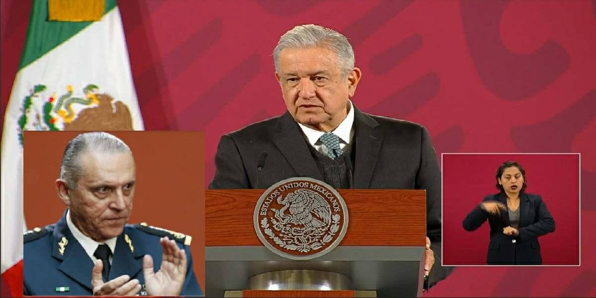 No se juzgará a inocentes, AMLO sobre caso Cienfuegos