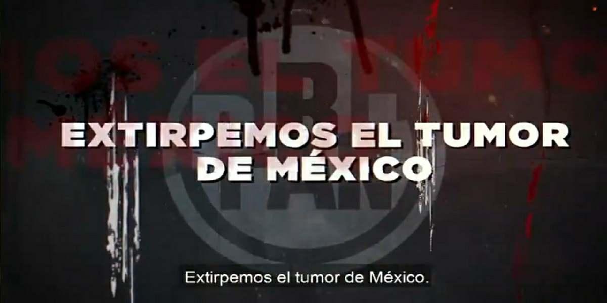 MORENA lanza video llamado #ExtirpemosAlPRIAN